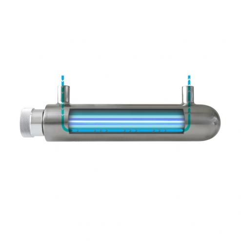 Фото 3 - На изображении Ультрафиолетовый обеззараживатель Ecosoft UV HR-60