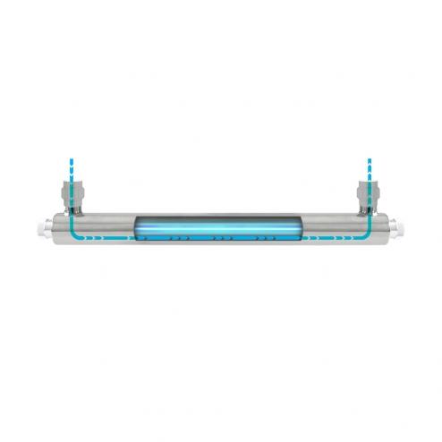 """Фото 3 - На изображении Ультрафиолетовый обеззараживатель Ecosoft E-360 6GPM/1360 LPH 1"""" NPT"""
