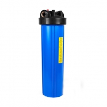 На изображении Фильтр Ecosoft Big Blue 20 с угольным картриджем