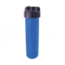 На изображении Фильтр Ecosoft Big Blue 20 с картриджем от сероводорода