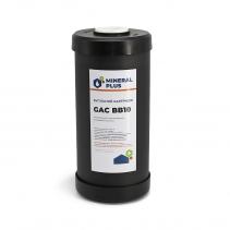 На зображенні Картридж із гранульованого активованого вугілля Mineral plus BB10