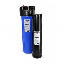 На изображении Фильтр Mineral plus Big Blue 20 с картриджем для удаления сероводорода