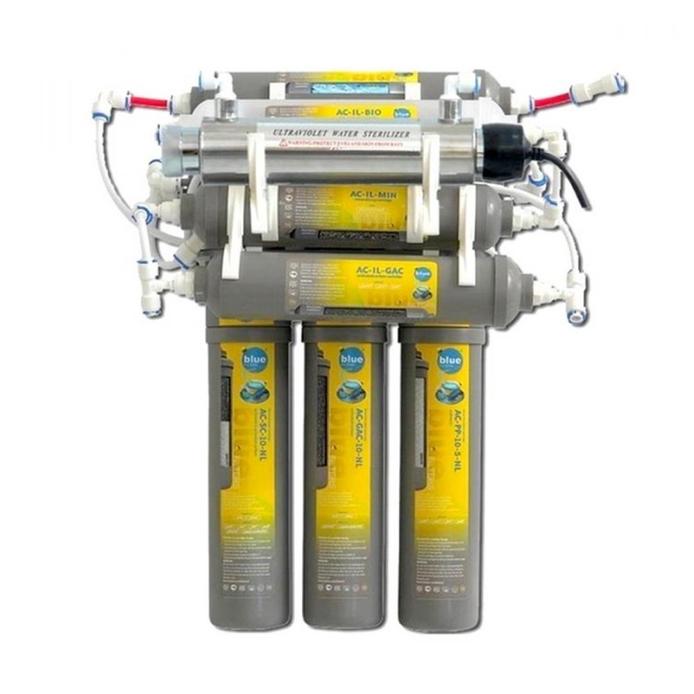На изображении Фильтр обратного осмоса Bluefilters New Line RO-9