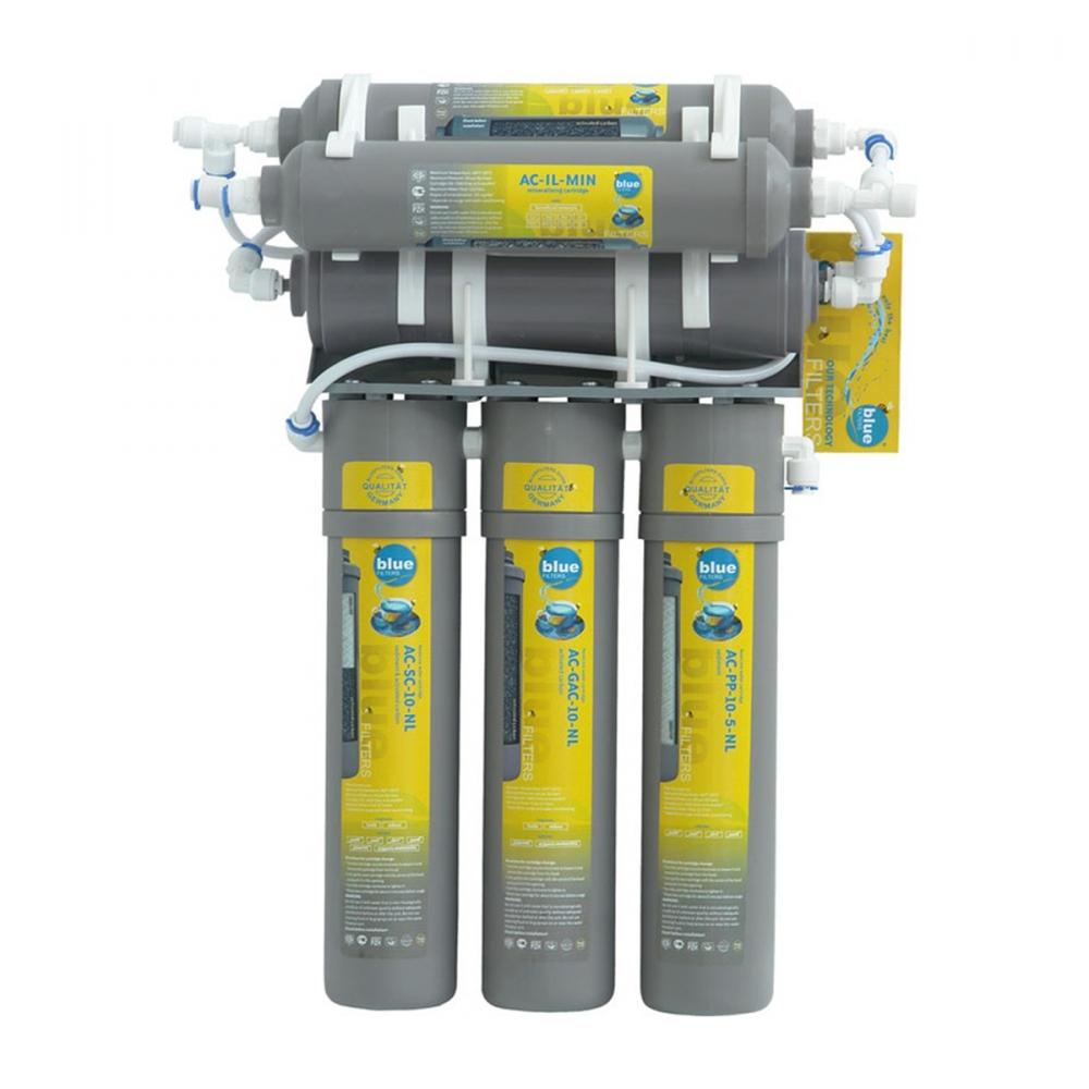 На изображении Фильтр обратного осмоса Bluefilters New Line RO-6