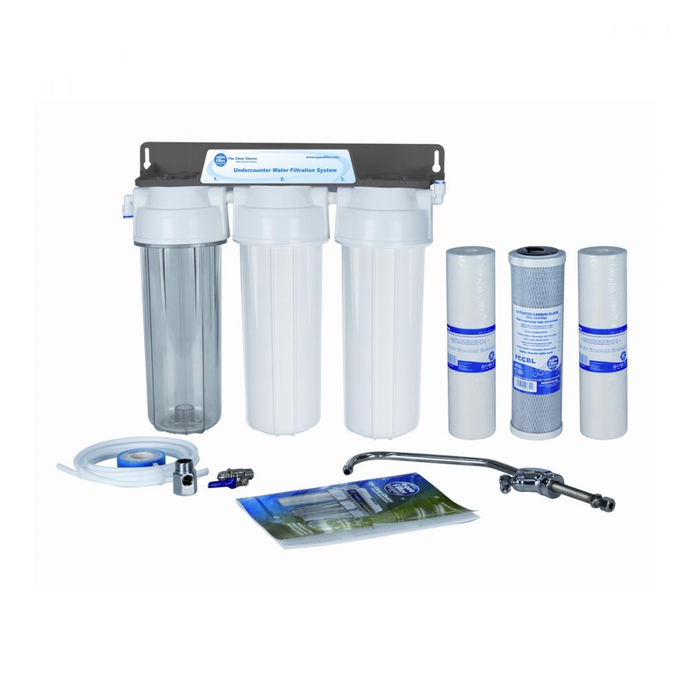 На изображении Проточный фильтр Aquafilter FP3 — 2