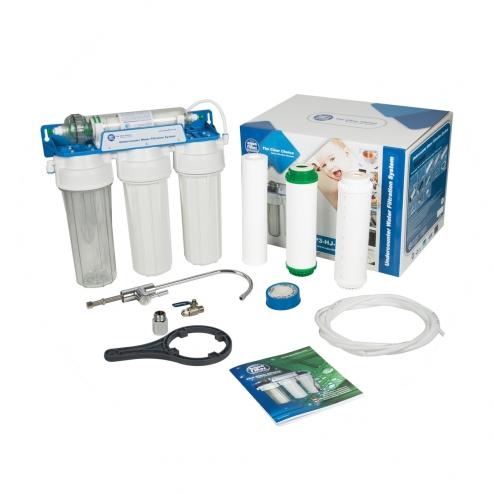 Фото 2 - На изображении Система ультрафильтрации Aquafilter FP3-HJ-K1