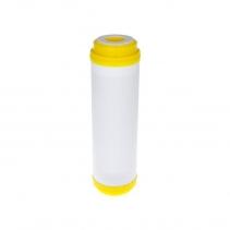 На изображении Картридж с ионообменным гранулатом Aquafilter DIAION FCCST20BB