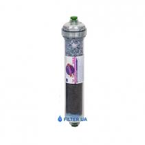 На изображении Угольный постфильтр Aquafilter AICRO-AB