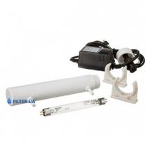 На изображении Ультрафиолетовый обеззараживатель Aquafilter FUV-P4
