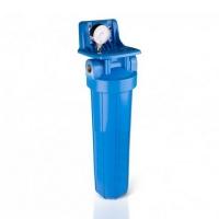 Фильтр Aquafilter Big Blue 20 с умягчающим картриджем и манометром