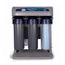 На изображении Фильтр обратного осмоса Aquafilter ELITE7G-GP с насосом, манометром и ионизатором AIFIR2000