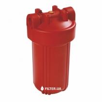 На изображении Фильтр для горячей воды Raifil Big Blue 10 без картриджа