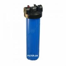 На изображении Фильтр Raifil Big Blue 20 с картриджем от сероводорода