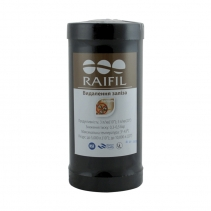 На изображении Картридж обезжелезивания RAIFIL Big Blue 10