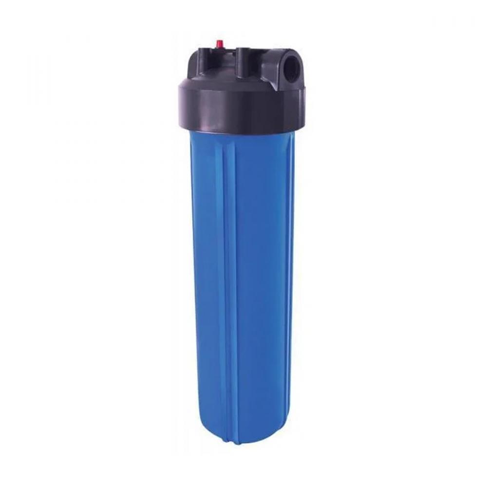 На изображении Фильтр Organic Big Blue 20 с механическим картриджем