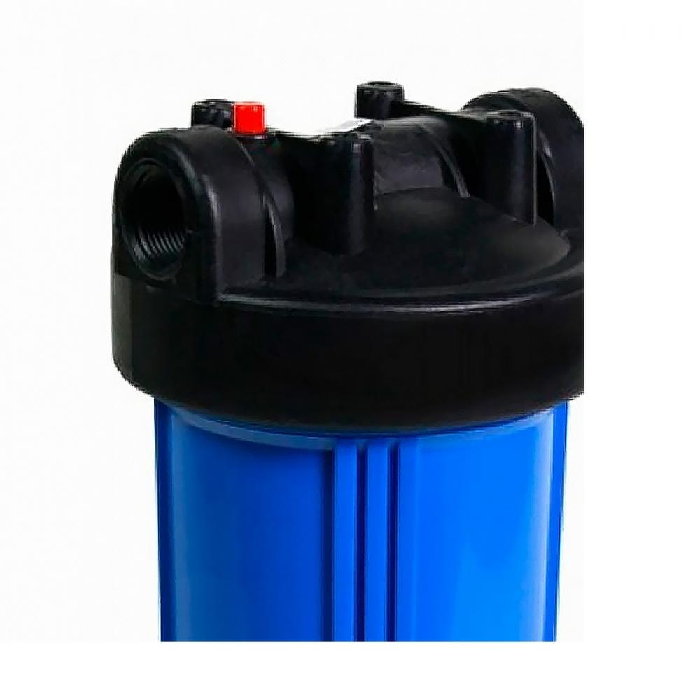 На изображении Фильтр Organic Big Blue 10 с умягчающим картриджем