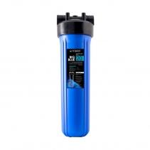 На изображении Фильтр Organic Big Blue 20 с умягчающим картриджем