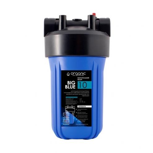 Фото 1 - На изображении Фильтр Organic Big Blue 10 с угольным картриджем
