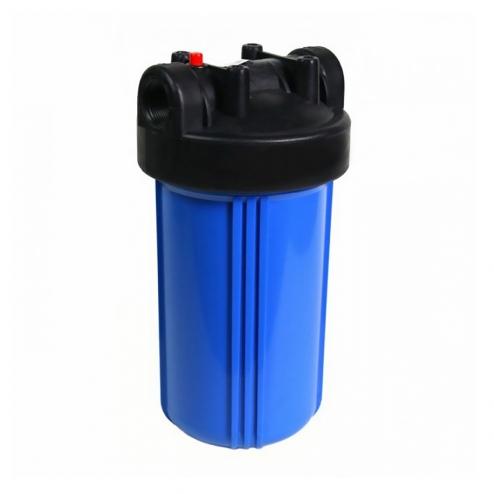 Фото 1 - На изображении Фильтр Organic Big Blue 10 с обезжелезивающим картриджем