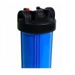 Фото 2 - На изображении Фильтр Organic Big Blue 10 с обезжелезивающим картриджем