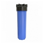 Фото 1 - На изображении Фильтр Organic Big Blue 20 с обезжелезивающим картриджем