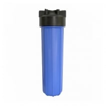 На изображении Фильтр Organic Big Blue 20 с обезжелезивающим картриджем