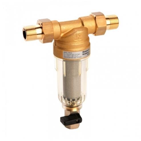 Фото 1 - На изображении Фильтр механической очистки HoneyWell (Resideo Braukmann) FF06-AA 3/4