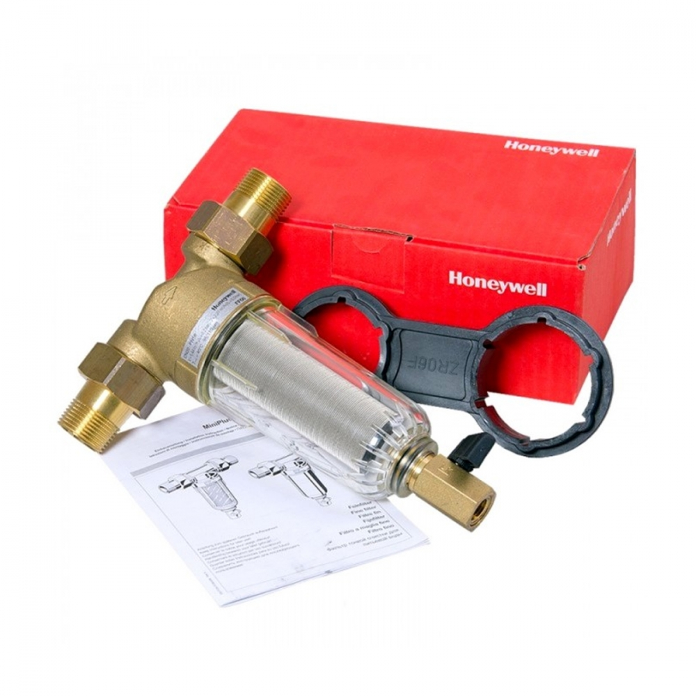 На изображении Фильтр механической очистки HoneyWell (Resideo Braukmann) FF06-AA 3/4
