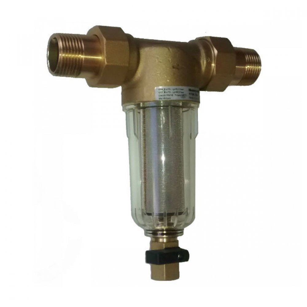 На изображении Фильтр механической очистки HoneyWell FF06-1AA