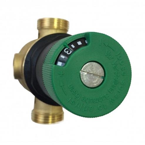 Фото 3 - На изображении Фильтр механической очистки HoneyWell FK06-AAМ 3/4 для горячей воды с редуктором