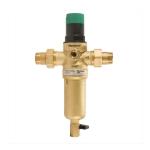 Фото 1 - На изображении Фильтр механической очистки HoneyWell FK06-1 AAM для горячей воды с редуктором