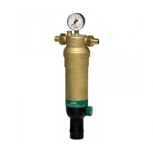 Фото 1 - На изображении Фильтр механической очистки HoneyWell (Resideo Braukmann) F76S-3/4AAM для горячей воды