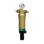 Фото 1 - На изображении Фильтр механической очистки HoneyWell (Resideo Braukmann) F76S-11/2AAM для горячей воды