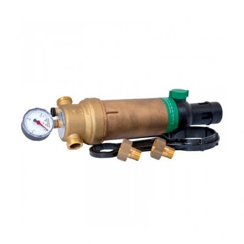 Фото 2 - На изображении Фильтр механической очистки HoneyWell (Resideo Braukmann) F76S-11/2AAM для горячей воды