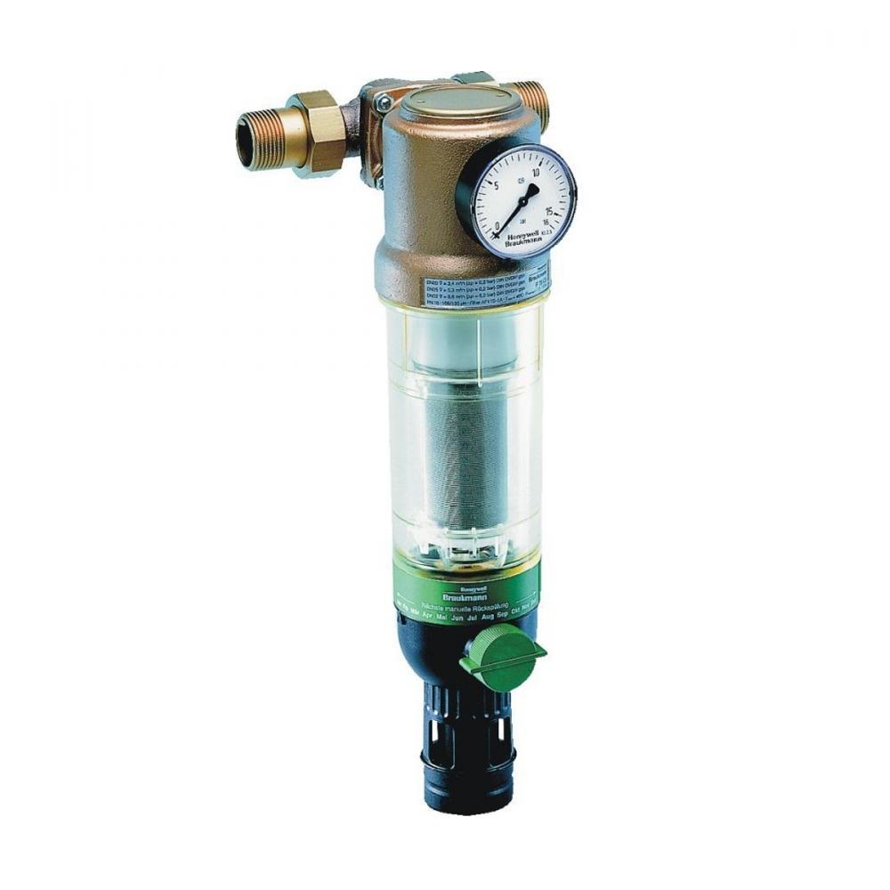 На изображении Фильтр механической очистки HoneyWell (Resideo Braukmann) F76CS-1AA