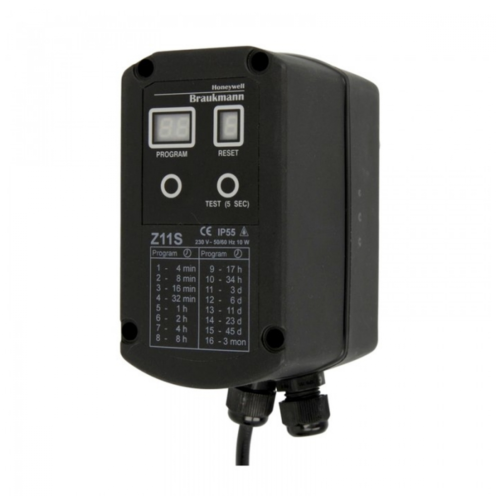 На изображении Автоматический привод промывочного устройства Honeywell Z11AS-1/2A