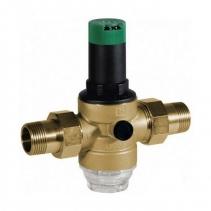 На изображении Редуктор понижения давления HoneyWell (Resideo Braukmann) D06F-1/2A для холодной воды