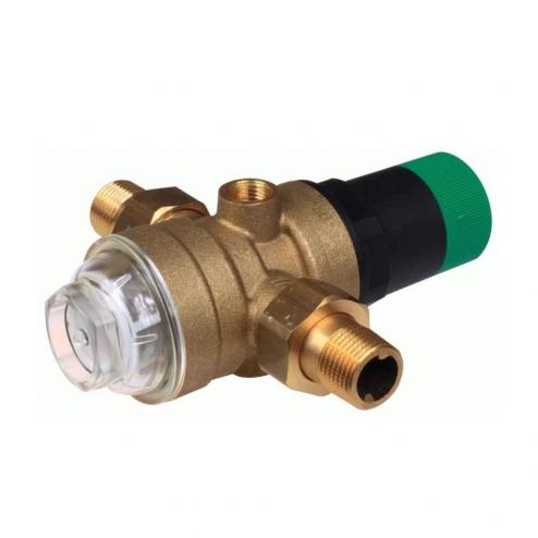 Фото 2 - На изображении Редуктор понижения давления Honeywell D06F-1/2A для холодной воды