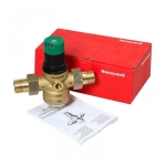 Фото 3 - На изображении Редуктор понижения давления Honeywell D06F-3/4A для холодной воды