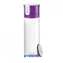 На изображении Фильтр-бутылка для воды Fill and Go Vital Purpure
