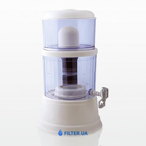 Фото 1 - На изображении Проточный фильтр Green Line минерализатор 14