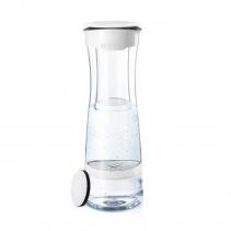 На изображении Фильтр-бутылка для воды Fill and Serve mind white (berry)