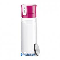 На изображении Фильтр-бутылка для воды Fill and Go Vital Pink