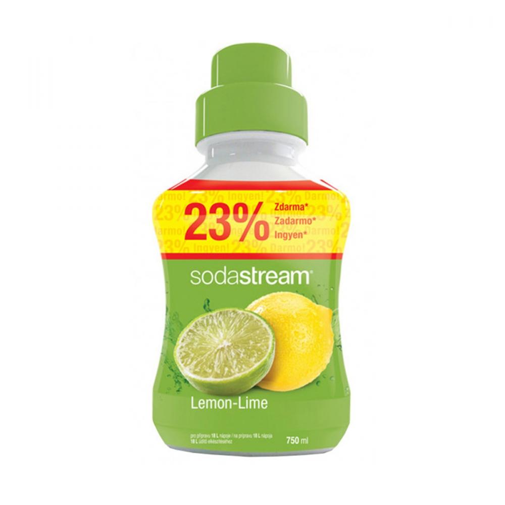 На изображении Сироп Sodastream Lemon Lime 750 мл