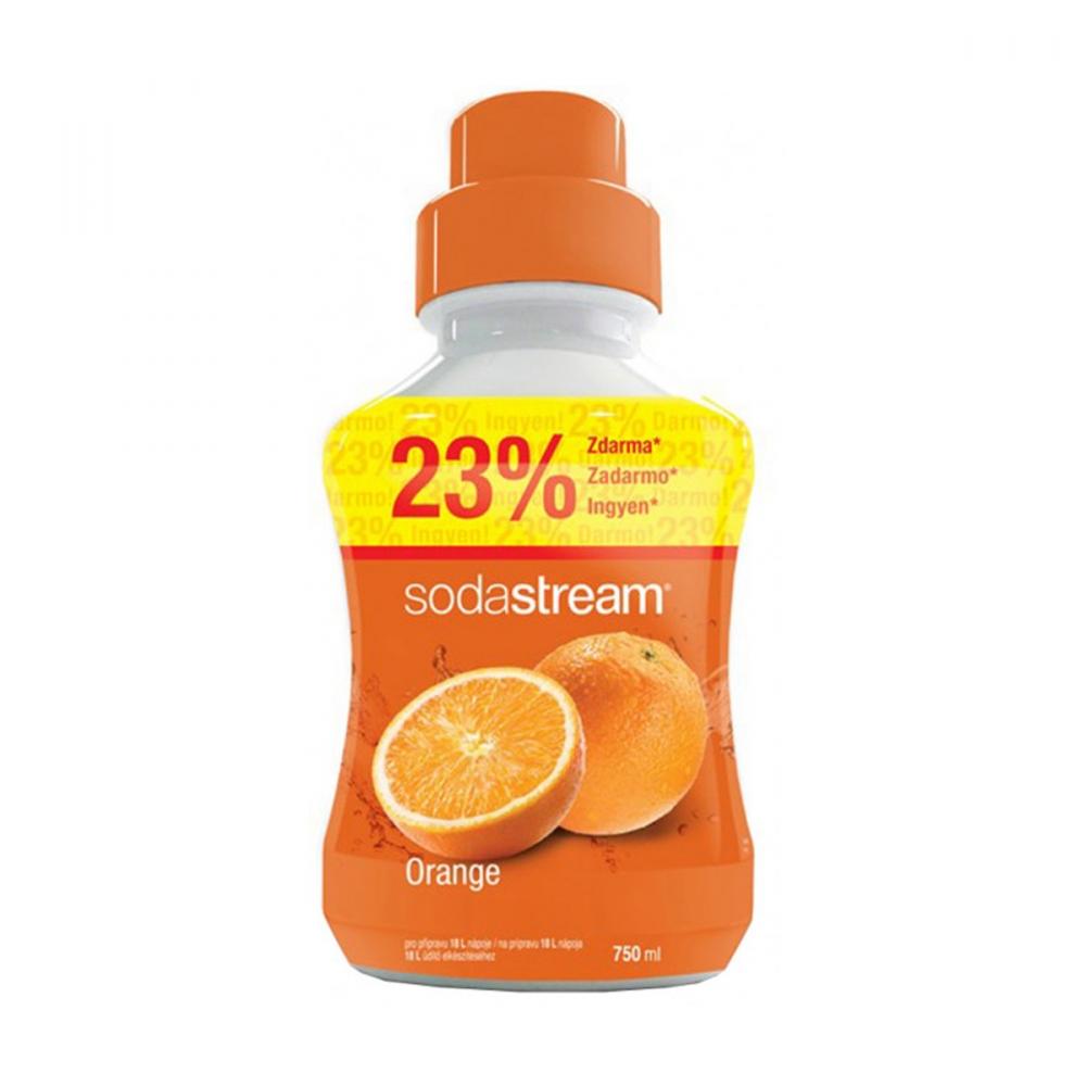 На изображении Сироп Sodastream Orange 750 мл