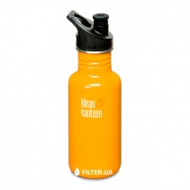 На изображении Бутылка Klean Kanteen Classic Sport 18oz/532ml Golden Poppy