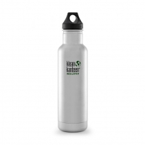 На изображении Термофляга Klean Kanteen Classic Vacuum Insulated Brushed Stainless 592 ml