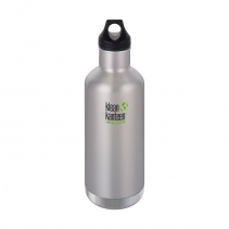На изображении Термофляга Klean Kanteen Classic Vacuum Insulated Brushed Stainless 946 ml