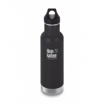 На изображении Термофляга Klean Kanteen Classic Vacuum Insulated Shale Black (matt) 592 ml