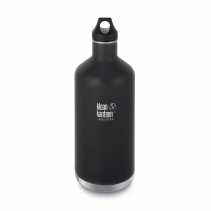 На изображении Термофляга Klean Kanteen Classic Vacuum Insulated Shale Black (matt) 946 ml